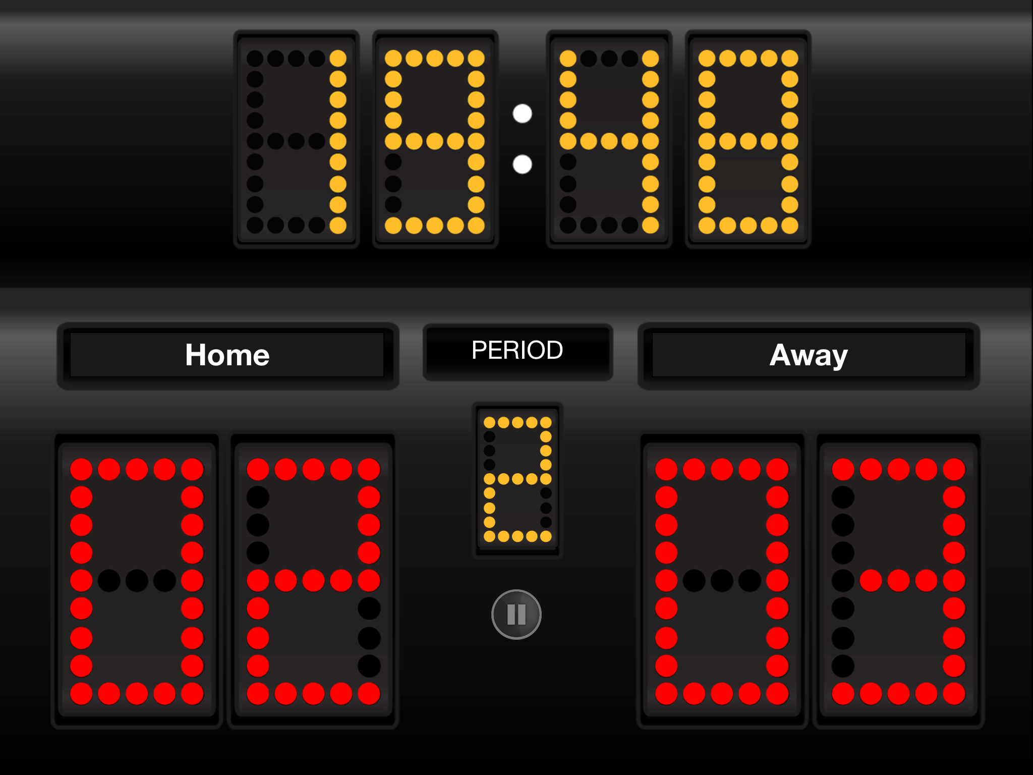 scoreboard sports app ipad tv basketball uses iphone during apps