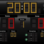 JD Hockey Scoreboard for iPad - Classic Theme