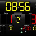 JD Hockey Scoreboard for iPad - LCD Theme